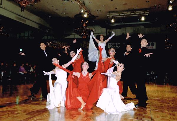 15周年記念親睦晩餐舞踏会 フォーメーション